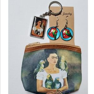 Accessories - Frida Kahlo Coin Purse Bundle Gift Set